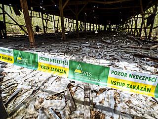 V areálu muničního skladu v obci Vrbětice v okrese Zlín došlo v roce 2014 k...