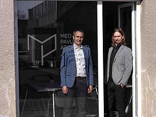 Architekti Tomáš Med a Lukáš Pavlík.