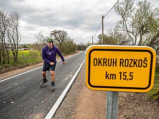 Nová cyklostezka mezi Provodovem a Šerčí (1. 5. 2021)
