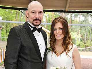 Bohuš Matuš a Lucie Palkaninová se vzali 12. května 2021.