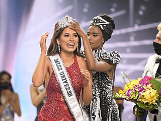 Miss Universe 2020 Andrea Meza (Los Angeles, 16. května 2021)