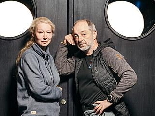 Bohdana Pavlíková a Luboš Veselý