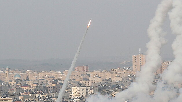 Hamás vypálil rakety na Jeruzalém. Ve městě zněly sirény