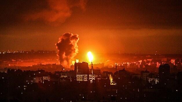 Izraelská armáda zaútočila na dům šéfa Hamásu v Gaze