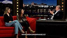 Iva Kubelková s dcerou Natálií v Show Jana Krause