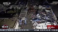 Dvě tornáda zabila v Číně nejméně 12 lidí