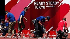 Tokyo se prépare pour les Jeux Olympiques.  Momentka zp
