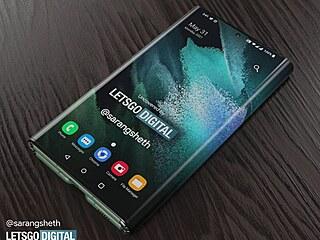 Samsung Z Fold Tab koncept