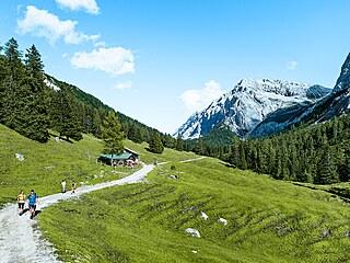 Putování v horách