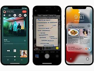Operační systém iOS 15