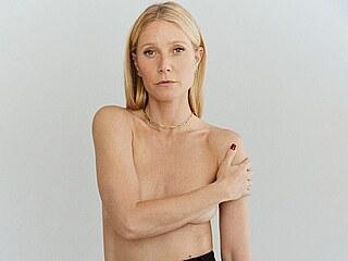 Gwyneth Paltrowová propaguje na svém webu Goop kolekci nových šperků (2021)