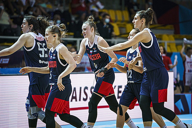 Ruské basketbalistky vyhrály na ME i nad Chorvatkami a čeká je Francie