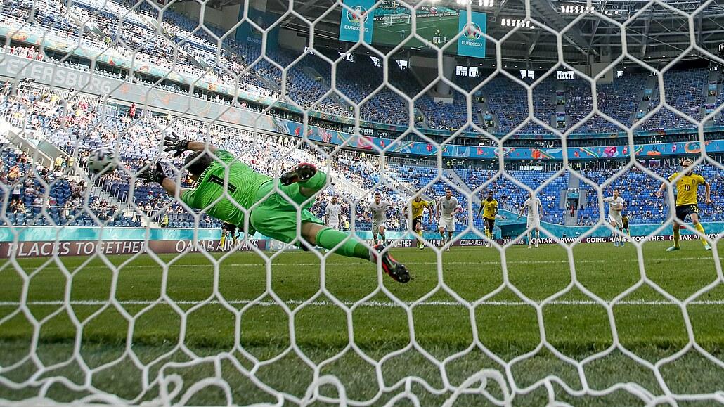 Švédsko - Slovensko 1:0, rozhodla penalta, poražení nevystřelili na bránu