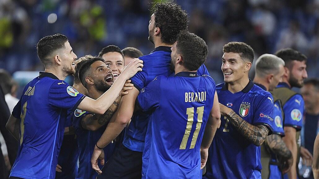 Itálie - Švýcarsko 3:0, postup zajištěn, dvě branky vstřelil Locatelli
