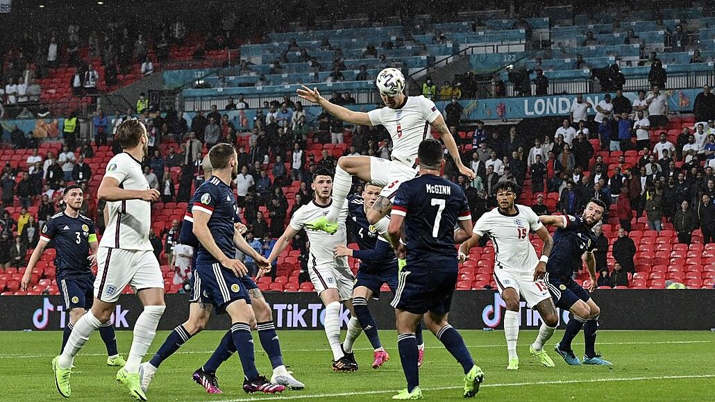 Anglie - Skotsko 0:0, ostrovní bitva bez vítěze, nejblíž gólu byl Stones