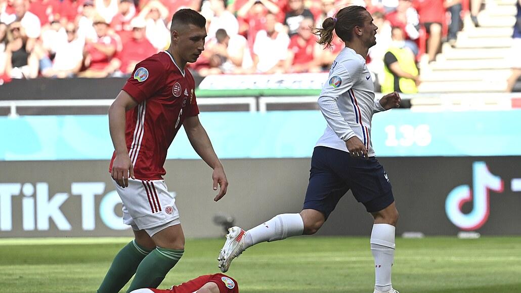 Maďarsko - Francie 1:1, senzace, favorit pálil šance a zvládl jen srovnat