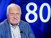 Bývalý prezident Václav Klaus v diskuzním pořadu Rozstřel. Klaus se k...