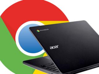 Ilustrační foto - Chromebook