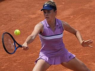 Linda Nosková v juniorském finále Roland Garros