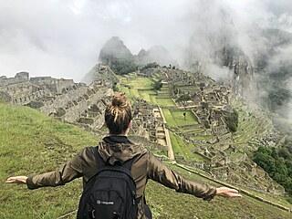Čtenářka Eva Čerešňáková se vyšplhala až nad bájné město Inků Machu Picchu.