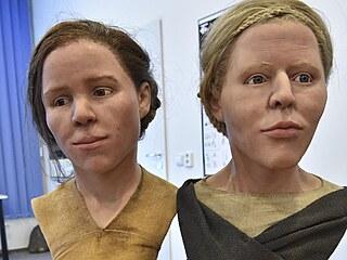 Vědci rekonstruovali podle lebek tváře dvou žen, které žily před šesti tisíci...