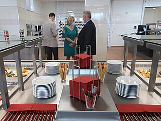 Nová kuchyně s jídelnou bude od poloviny června k dispozici zaměstnancům a...