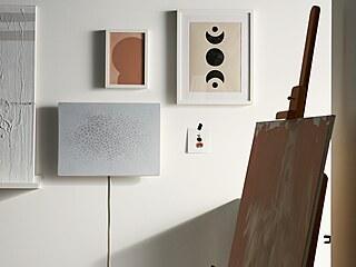 Reprosoustava v obrazovém rámu Ikea Symfonisk