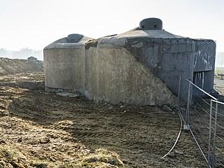 Pěchotní srub MO-S 19 Alej v Areálu československého opevnění v...