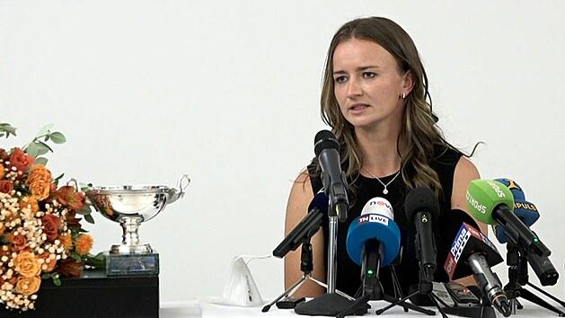 Šťastná Krejčíková je zpět. Co chce vyhrát příště?