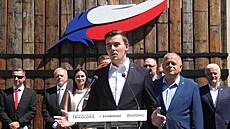 Česká televize nás diskriminuje, stěžuje si koalice Trikolóry. Chce být ve více televizních debatách