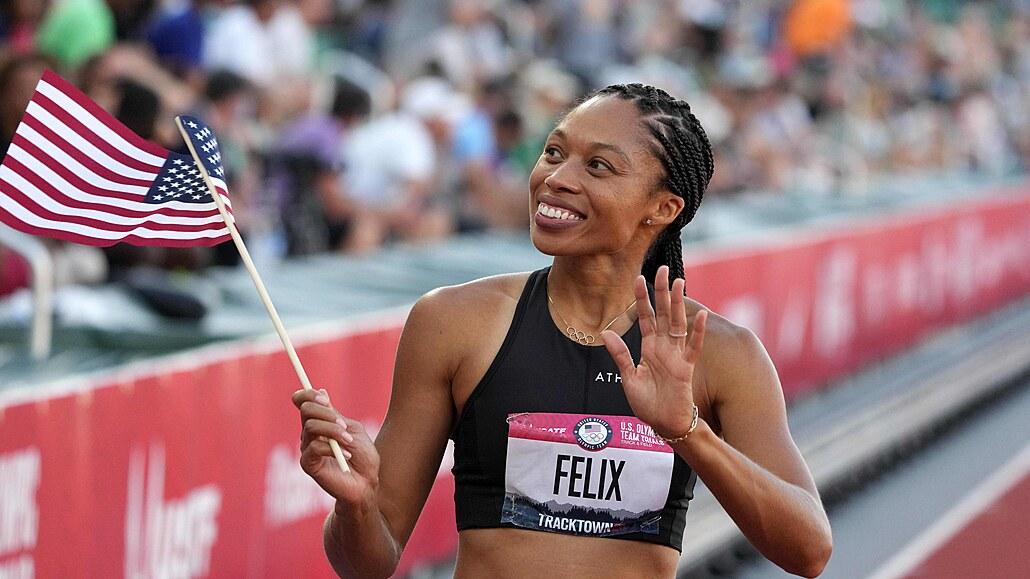 Hvězdná čtvrtkařka Felixová se kvalifikovala na páté olympijské hry