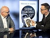 Hostem Rozstřelu je egyptolog Miroslav Bárta. (22. června 2021)