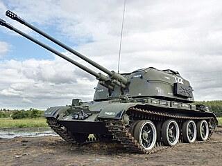 ZSU-57-2 byl protiletadlový tank, který ČSLA nezavedla do výzbroje, protože byl...