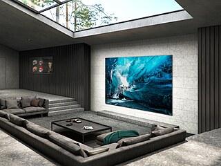 Samsung uvedl na trh první televize s technologií MICRO LED, která slibuje...
