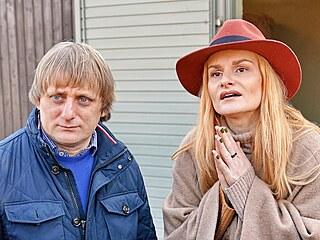 Lukáš Pavlásek a Iva Pazderková (Praha, 17. února 2019)