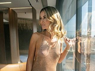 Lucie Dvořáková alias DJ Lucca v magazínu Playboy