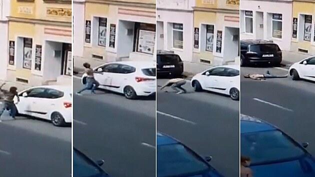 Tepličan se před příjezdem policie sám knokautoval ranou do hlavy