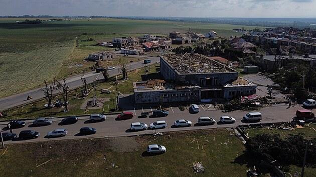 Folgen des Tornados Moravská Nová ves (25. Juni 2021)