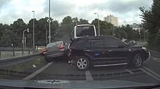 Kamera zachytila honičku i zadržení řidiče pod vlivem