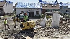 K demolici po bouřkách a tornádu na jižní Moravě je určeno už 150 domů. Číslo zatím není konečné