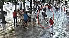 Muž kopl kolemjdoucího do hlavy, pak útočil pěstí