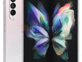 Uniklé rendery modelu Samsung Galaxy Z Fold 3