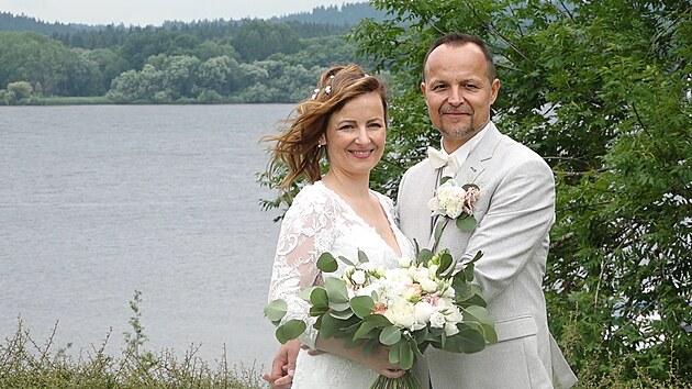 Petr Rajchert si změnil příjmení a potřetí se oženil, manželka je těhotná