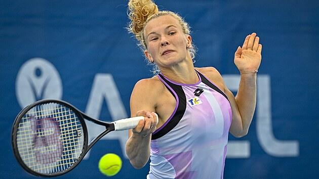 Kateřina Siniaková na pražském turnaji