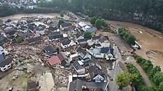 Za záplavy v Německu nemohl pouze Bernd, říkají experti. Se změnou klimatu nemusely mít nic společného