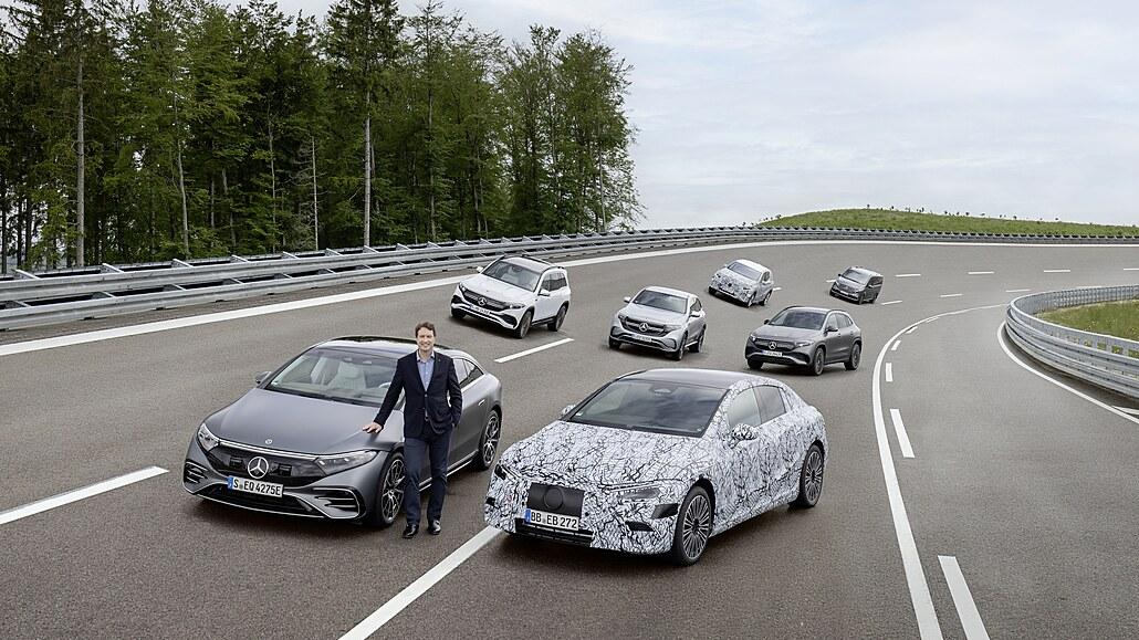 Daimler urychlí přechod k elektřině, dá na to více než bilion