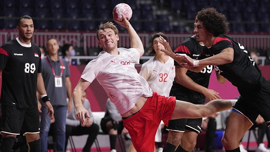 Dánští házenkáři vyhráli v Tokiu i druhý zápas, s Egyptem rozhodli po pauze