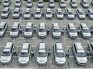 Automobilka Škoda Auto předala 22. července 2021 před Škoda Muzeem v Mladé...