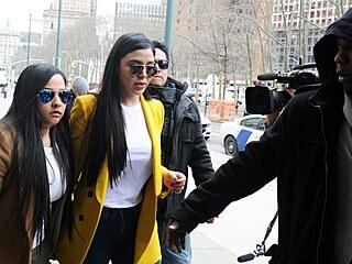 Manželka mexického narkobarona Joaquína Guzmána Emma Coronelová Aispurová...