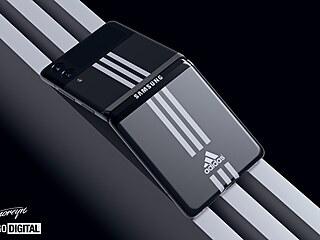 Designový koncept Samsungu Galaxy Z Flip 3 Adidas Sport